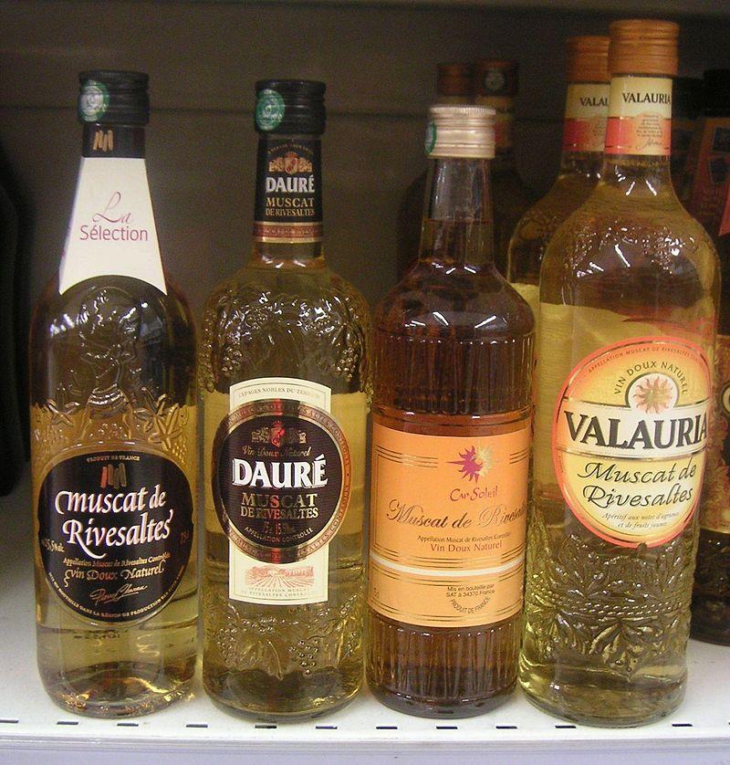 Μπουκάλια μοσχάτο de Rivesaltes ΠΑ - Λευκά Κρασιά