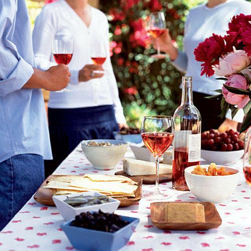 Με τι φαγητά ταιριάζει το ροζέ κρασί